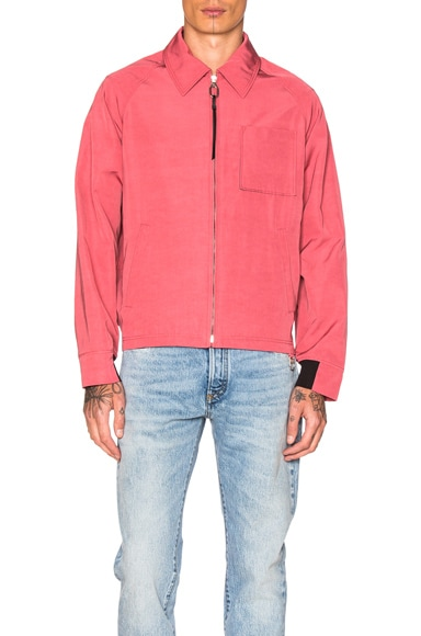 Lanvin Reps Coach Jacket in Pink