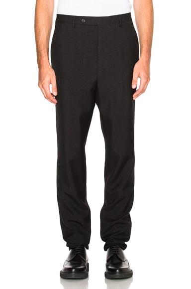 Lanvin Low Crotch Trousers in Black