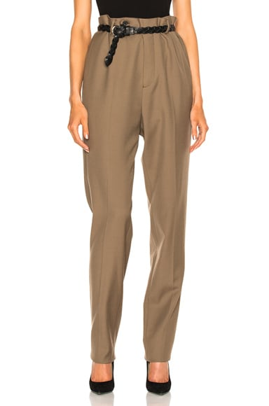 Lanvin Low Crotch Trousers in Sand