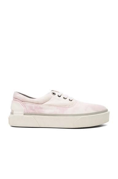 Worn Fabric Oxford Sneakers