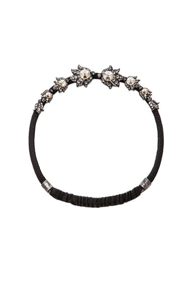 Lanvin Headband in Noir