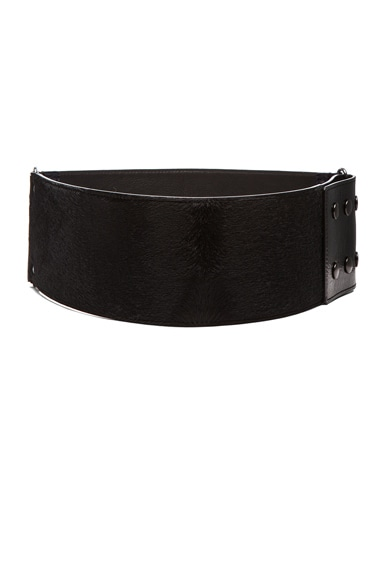Lanvin Waist Belt in Black