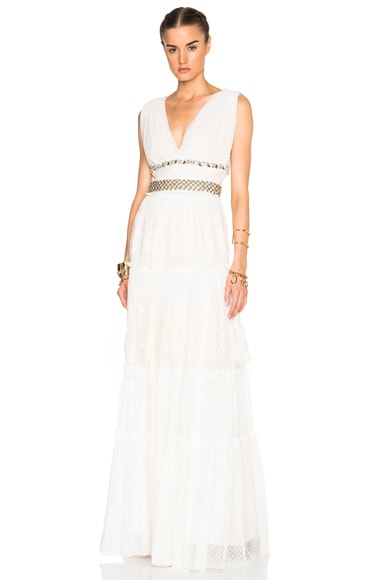 Lanvin Lace Gown in Ecru