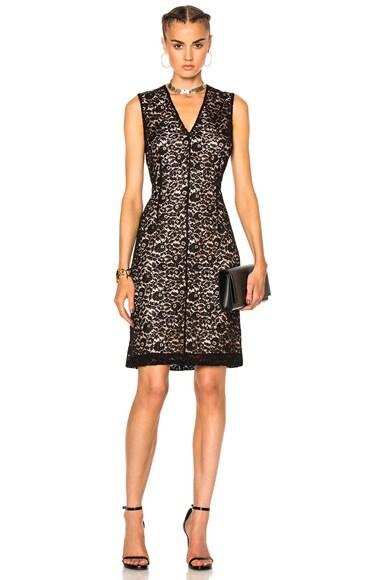 Lanvin Lace Dress in Black