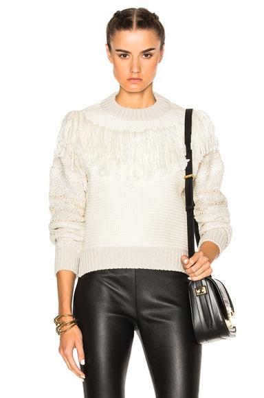Lanvin Sweater in Ecru