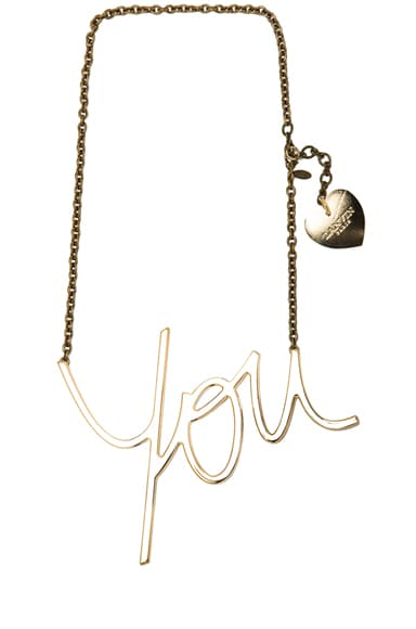 Brass You Necklace