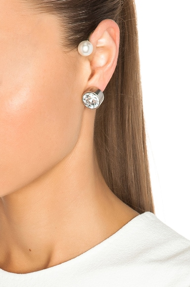 Ear Cuffs With Pearl
