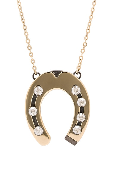 Pendant Horseshoe Necklace