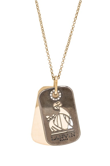 Pendant Military Medal Necklace
