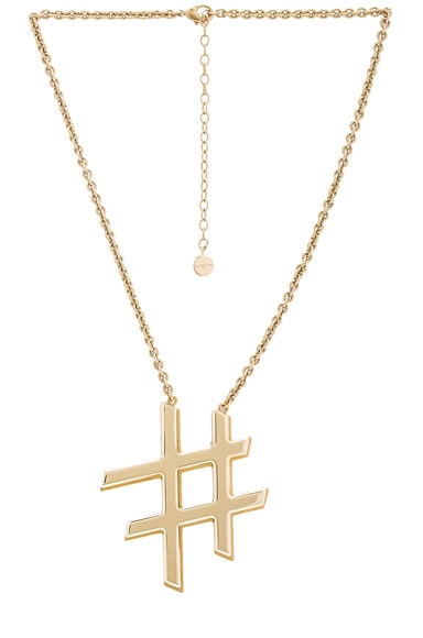 Lanvin Icon Necklace in Gold