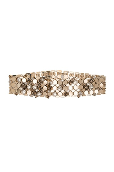 Lanvin Choker Necklace in Crystal