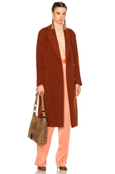Lanvin Coat in Ginger Red