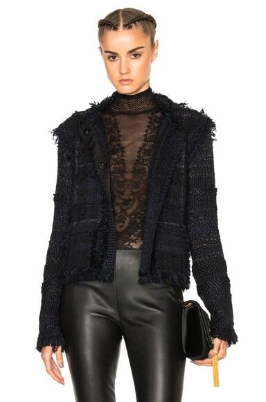 Lanvin Knitted Jacket in Black
