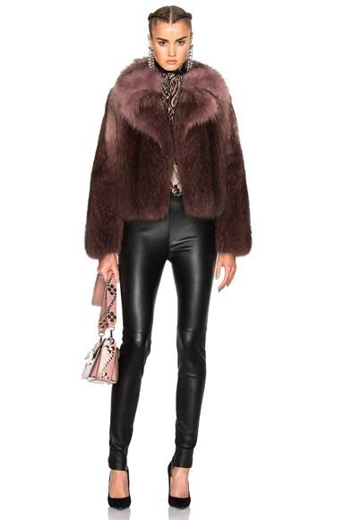 Racoon Fur Jacket