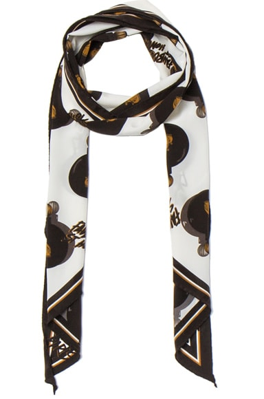 Lanvin Scarf in Black & White