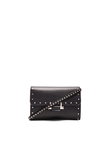 Lanvin Small Studded Essential Bag in Black