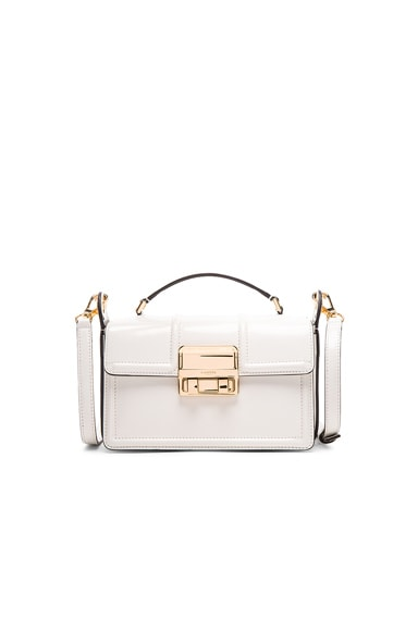 Lanvin Small Jiji Box Bag in Ivory