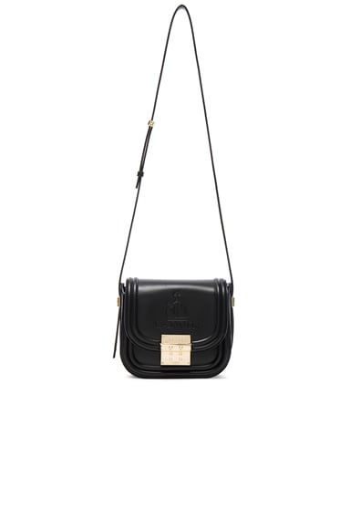 Lanvin Small Calfskin Bag in Black