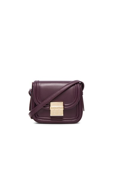 Lanvin Mini Lala Bag in Aubergine
