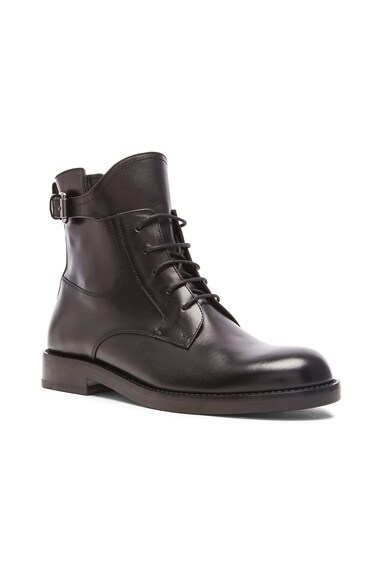 Combat Leather Boots