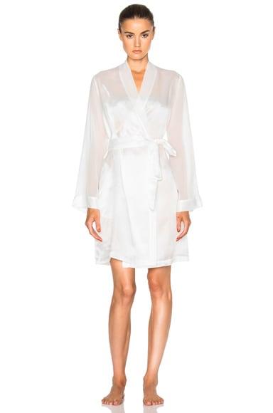 La Perla Jazz Time Robe in White