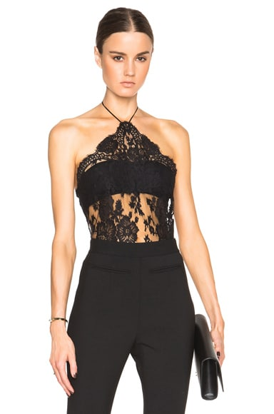 La Perla Freesa Bodysuit in Black