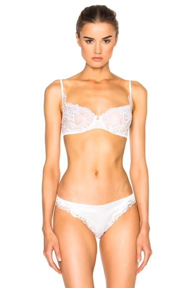 La Perla Secret Story Balconette Bra in Natural