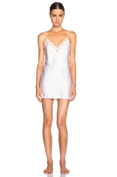 La Perla Maison Slip Dress in Ivory