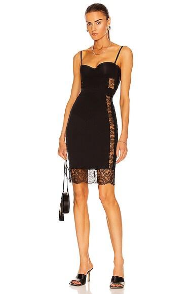 La Perla Shape Allure Dress in Black