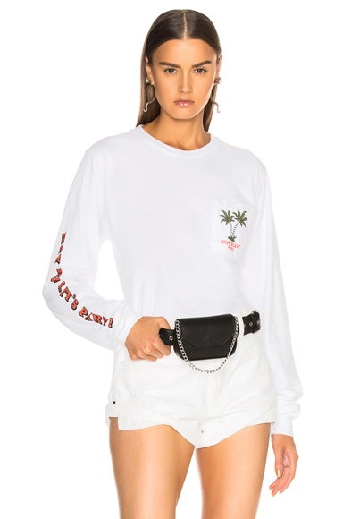 for FWRD Let's Party Long Sleeve Tee