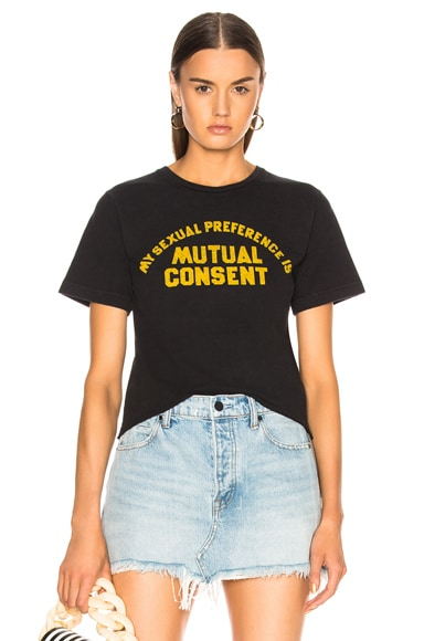 for FWRD Mutual Consent Crop Tee