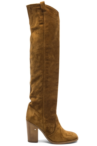 Laurence Dacade Silas Suede Boots in Camel