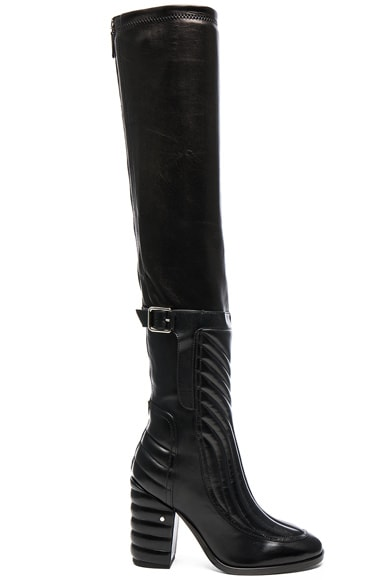 Laurence Dacade Bettina Leather Boots in Black