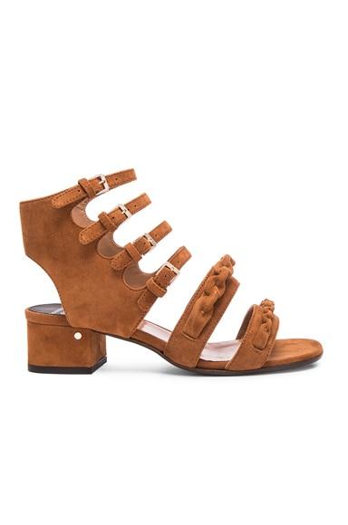 Laurence Dacade Kemo Suede Sandals in Camel