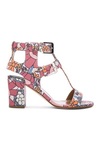 Leather Diane Heels