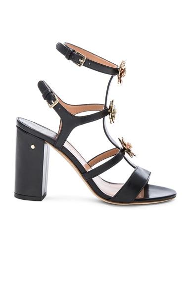 Leather Leonie Heels