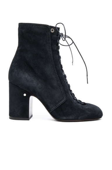 Suede Milly Booties