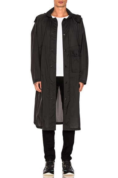 Lemaire Lightweight Parka in Anthracite