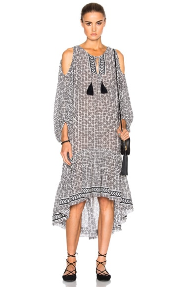 Lemlem Kafa Midi Dress in Print