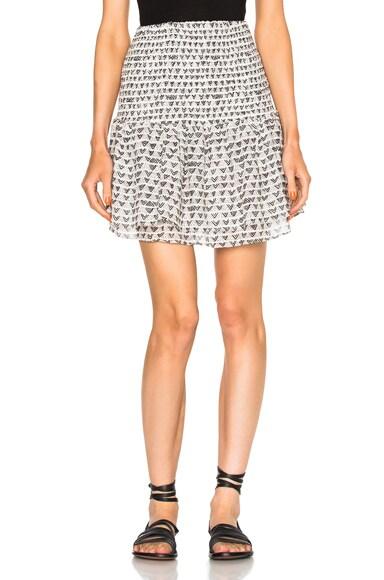 Lemlem Lula Skirt in Ivory