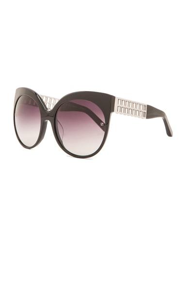 Cutout Cateye Sunglasses
