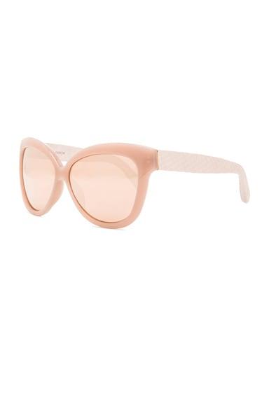 Snake Skin Cat Eye Sunglasses