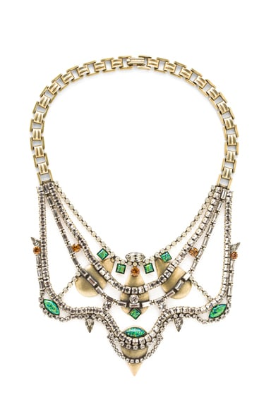 Lionette Shemesh Antique Plated Necklace
