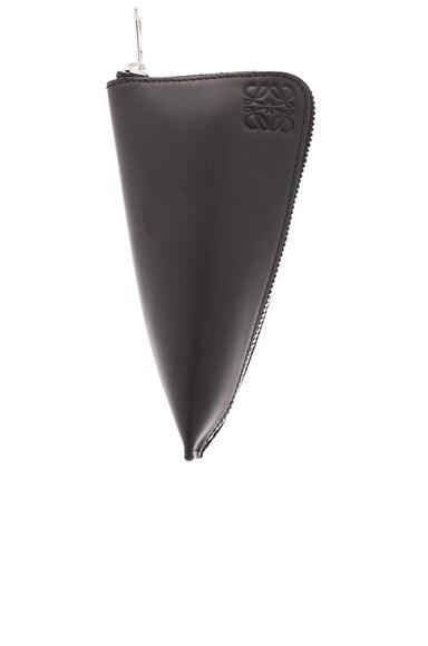 Loewe Z 6 Keys Keyring in Black