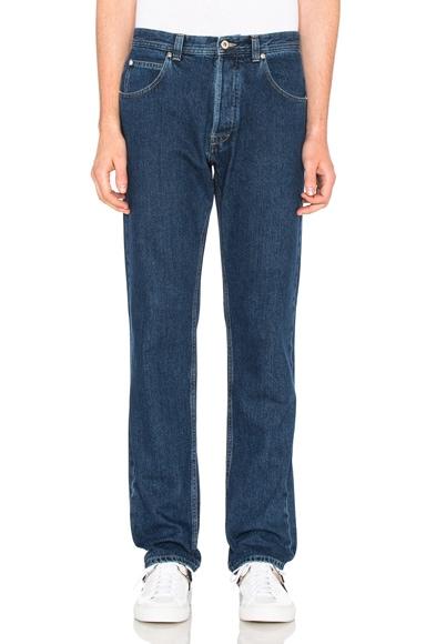 Loewe Stonewashed Jeans in Indigo