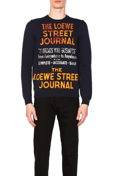 Street Journal Sweater