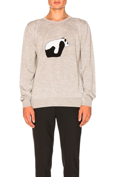 Panda Crewneck Sweater