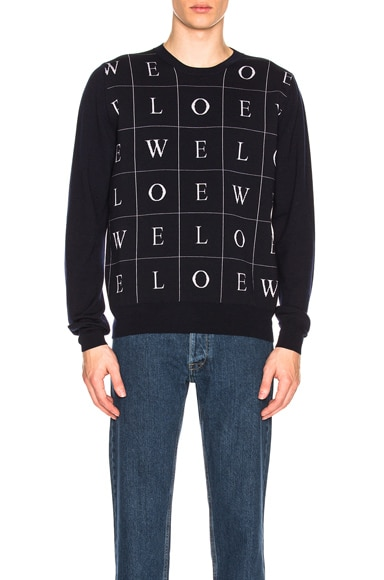 Letters Sweater