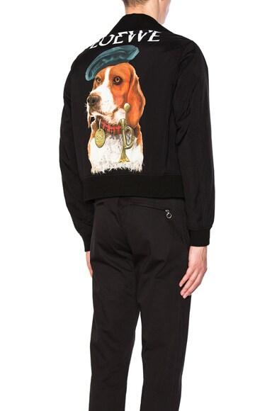 Dog Bomber Jacket