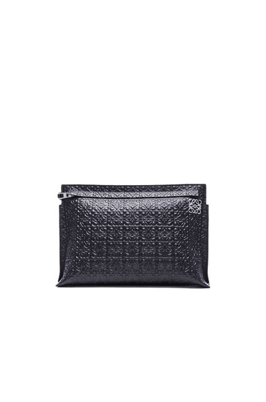 Loewe Large Pouch in Black